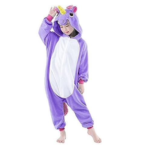 Kinder Schlafanzug Tierkostüme Pyjamas Cartoon Kigurumi Cosplay Onesize Weihnachten Karneval