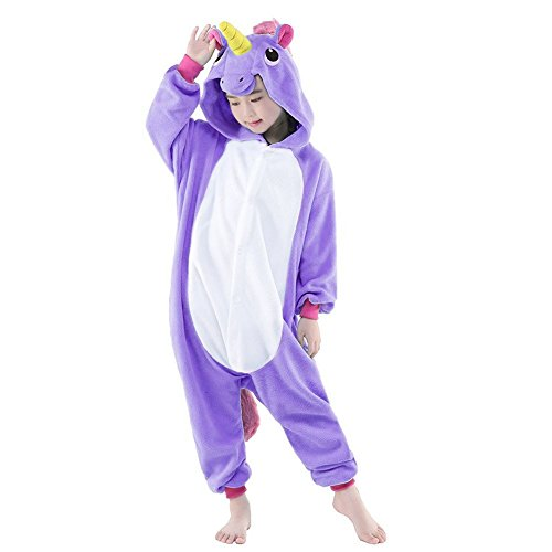 Kinder Schlafanzug Tierkostüme Pyjamas Cartoon Kigurumi Cosplay Onesize Weihnachten Karneval - Très Chic (Cartoon Adult Kostüme)
