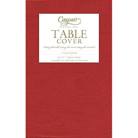 Caspari-Copritavola in carta stampata Rosso