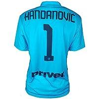 Maglia HANDANOVIC Inter Ufficiale 2019-20 Uomo Adulto Bambino Samir Nr.1 Capitano (12 Anni)