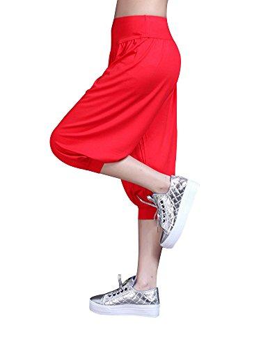 OCHENTA -  Pantaloni sportivi  - Donna Red