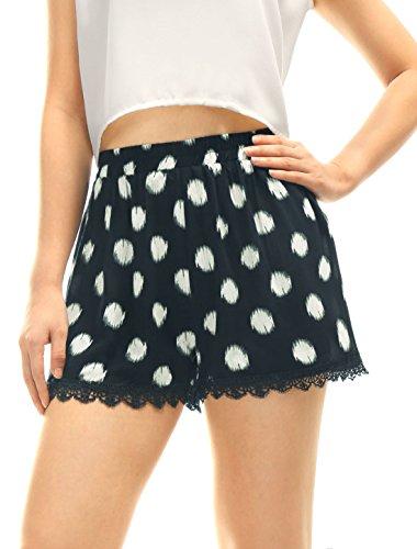 allegra-k-women-dots-lace-trim-elastic-waist-casual-shorts-blue-l