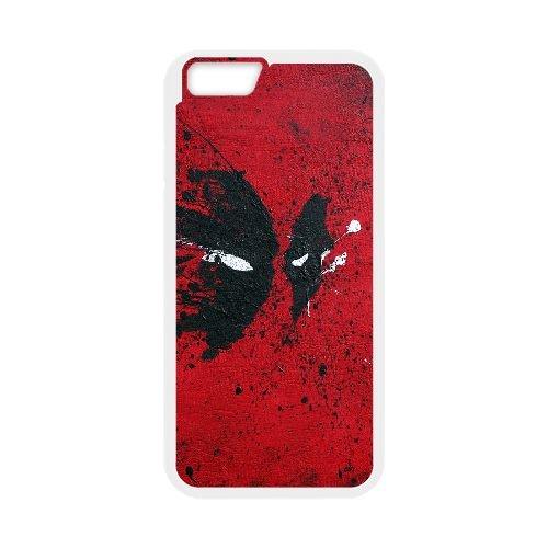 Deadpool coque iPhone 6 Plus 5.5 Inch Housse Blanc téléphone portable couverture de cas coque EBDXJKNBO12042