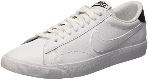 Nike  Tennis Classic Ac, Gymnastique  homme Blanc Cassé (White/White/Black)