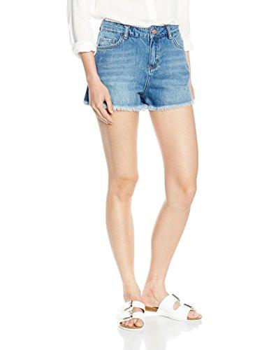 New Look Petite Damen Short Denim, Blau (Light Blue), 36 (Herstellergröße: 6)