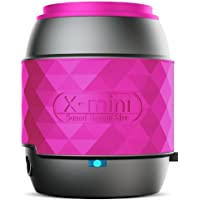 X-Mini WE XAM17-B Wireless Bluetooth Portable Thumb Size Speaker Compatible with iPhone/iPad/iPod/Smartphones/Tablets/MP3 Player/Laptop - Pink