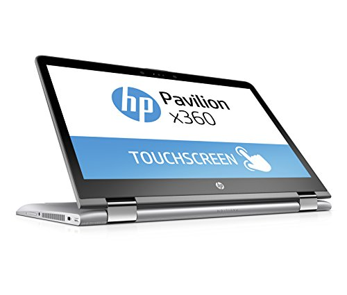 HP Pavilion x360 (14-ba012ng) 35,6 cm (14 Zoll / FHD-IPS) Notebook (Intel primary i7-7500U, 128 GB SSD, 1 TB HDD, 8 GB RAM, NVIDIA GeForce 940MX, Windows 10 family home 64) silber DE
