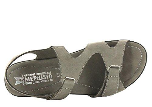 Mephisto PARIS BUCKSOFT 6925 Damen  Sandalen Pewter