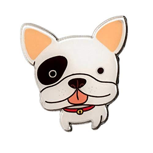 MXECO Auto Deodorante per auto Simpatici cani Forma Auto Aria condizionata Sfiato Profumo Sensazione di comfort Auto decorata Kit femm
