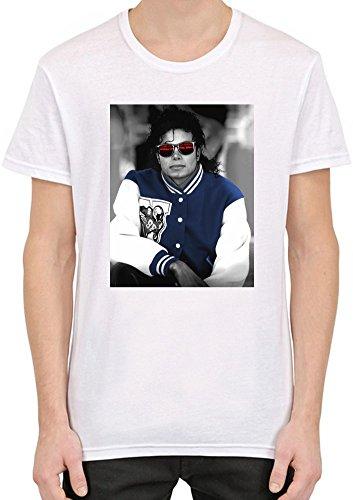 Pop King Sunglasses T-shirt personnalisé imprimé pour homme | 100% coton peigné et à anneaux | T-shirt élégant de qualité supérieure Medium