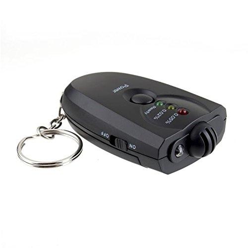 ANDE LED AlkoholTester, Breathalyzer mit Brennstoffzellensensor Elektrochemischer Alkoholtester Perfekt für Fahrer