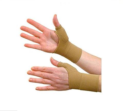 Therapie Handschuhe Gel gefüllt Daumen Hand Handgelenk Unterstützung Arthritis Kompression