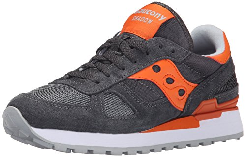 SAUCONY ORIGINALS - Shadow Original W, Sneaker Donna Antracite/Arancione