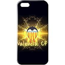 Nuevo diseño famoso FC Valencia Football Club Logo Funda para iphone 5/5S 3D plástico funda, compatible con Blackberry Z10, color multicolor