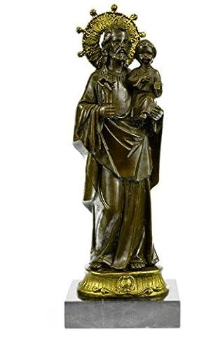 Handmade Bronze Skulptur Bronze Statue zeichnetes Original Gold Patina gekrönten Jungfrau Maria Figuren-JPxn-2442- Decor Sammler Geschenk