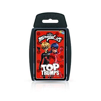 Top Trumps 035903 Jeu de Cartes Miraculous Multicolore