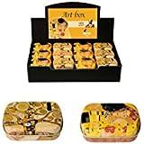 "Fridolin 18611""Klimt–El Beso"" Mini caja de metal"