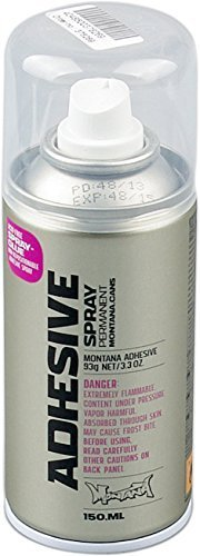 Montana Sprühdose ADHESIVE SPRAY - Sprühkleber permanent / 150ml