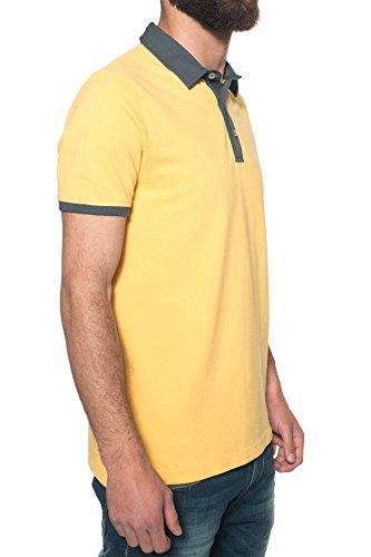 M C S Herren Poloshirt gelb gelb Gelb