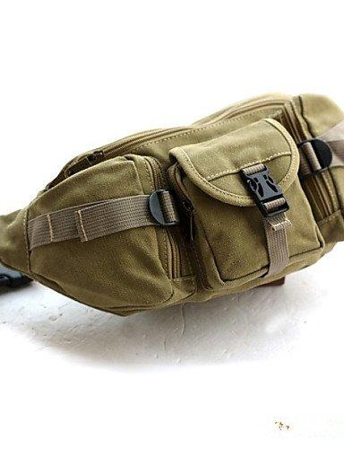 ZXC/Outdoor-Reise Casual Leinwand Taschen Taschen groß Kapazität Bergsteigen Trekking Khaki