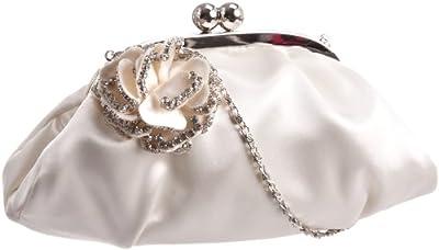 MENBUR Flor 823490004 - Bolso de fiesta de tela para mujer