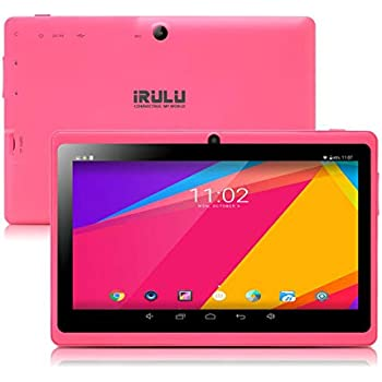 Tablet de 7 Pulgadas Google Android 8.1 Quad Core 1024x600 Cámara Dual WiFi Bluetooth 1GB/8GB Play Store Netfilix Skype Juego 3D Compatible con GMS ...