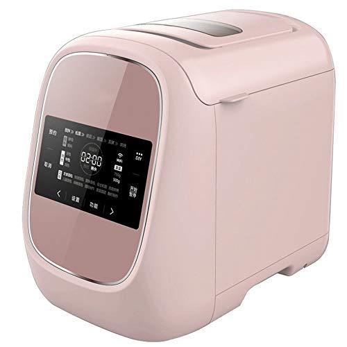 CN Brot Maschine Hause Multifunktions Intelligente Wifi Automatische Kleine Kuchen Maschine Hacke Maschine,Rosa,1
