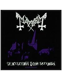 Mayhem parche–de misteriis dom sathanas–Mayhem Patch–tejida & licencia oficial..