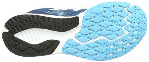 Adidas - Aerobounce racer - Chaussures running Bleu (Blue Night F17/ftwr White/vapour Blue F16)