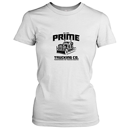 TEXLAB - Prime Trucking - Damen T-Shirt, Größe XL, (Lkw Kostüm Transformer)