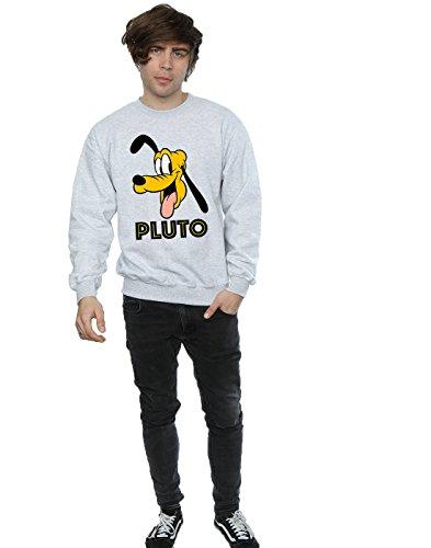 Disney hombre Pluto Face Camisa De Entrenamiento