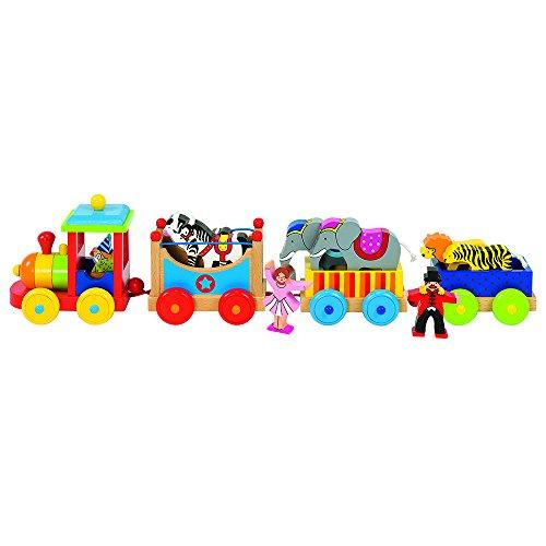 Goki 55958 trene de Juguete - Trenes de Juguete, Madera, 3 año(s), 89 mm, 115 mm, 45 cm