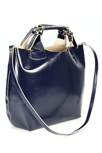 Belli , shoppers femme Bleu - Bleu
