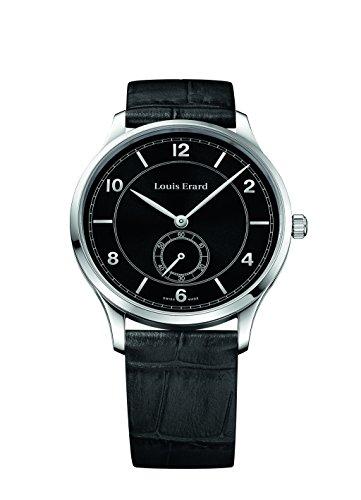 Louis Erard Excellence Automatik Uhr, Schwarz, 42 mm, Chrono, 71231AA02.BDC51