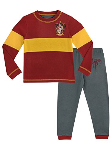 Harry Potter - Pijama para Niños - Gryffindor - 10 - 11 Años