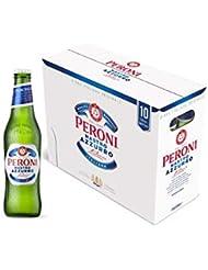 Peroni Nastro Azzurro Premium Lager Beer, 10 x 33cl