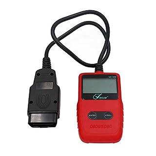 Ksruee OBD2 Diagnosegerät, Diagnose Fehlercodes Diagnose Scanner, OBDII Adapter Scanner Mit Hintergrundbeleuchtetes Display, Fahrzeug Diagnose Tool für Arbeiten Sie mit Allen 1996 Fahrzeugen
