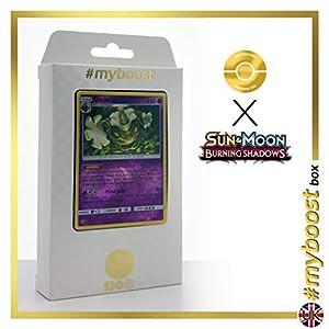 Dusknoir 53/147 Holo Reverse - #myboost X Sun & Moon 3 Burning Shadows - Box de 10 cartas Pokémon Inglesas