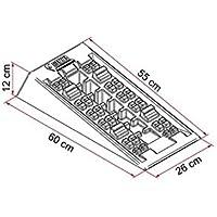 FIAMMA - Nivelación a Incaster Level System Jumbo Fiamma Camper Campamento Minivan - 10423.22