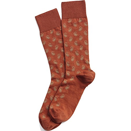 Hush Puppies Layton Paisley Sock Orange