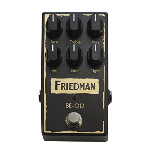Friedman BE-OD Browneye Overdrive · Pedal guitarra eléctrica