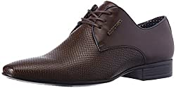 Alberto Torresi Mens Shadow Tan Formal Shoes - 11 UK/India (45 EU)