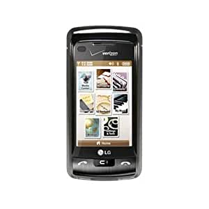 OEM Verizon Snap-On Face Plate Cover for LG enV Touch VX11000 - Chrome