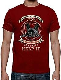 186e5c76436ed latostadora - Camiseta Bulldog Frances para Hombre
