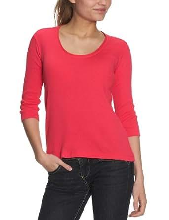 CK Calvin Klein Damen Shirt/ Langarmshirt KWP479 JDL00, Gr. 36 (IT 42), Blau (798)