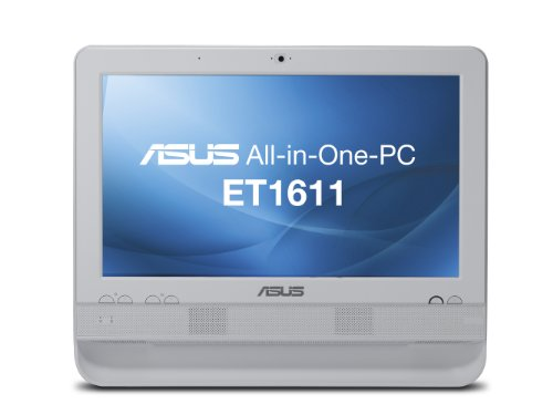 "Asus all-in-one eT1610PUT 39,6 cm (15,6 "")-pC (intel atom d425 1,8, gHz 1Go de rAM, disque dur 250Go, win 7 hP (blanc)"