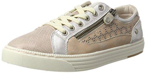 MUSTANG Damen 1246-301 Sneaker, Rot (506 lachs), 39 EU