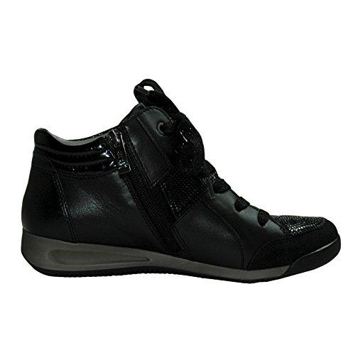araRom-stf - Pantofole a Stivaletto Donna nero (nero)