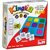 Kingka Red (A Puzzle, Bingo & Memory Language Board Game for Learning Chinese)