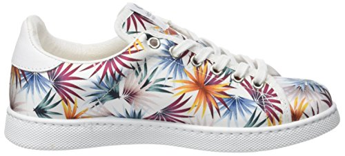 victoria Unisex-Erwachsene Deportivo Raso Tropical Sneaker Weiß (Blanco)